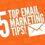 5 suggerimenti per creare una campagna di email marketing coinvolgente